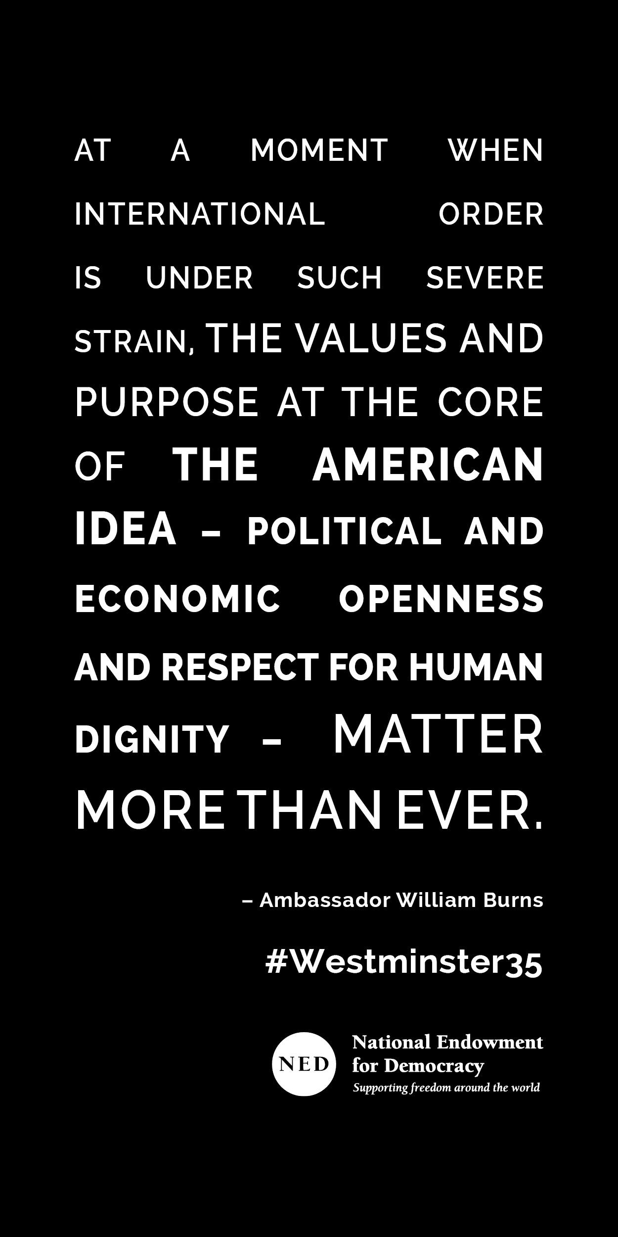 American values matter