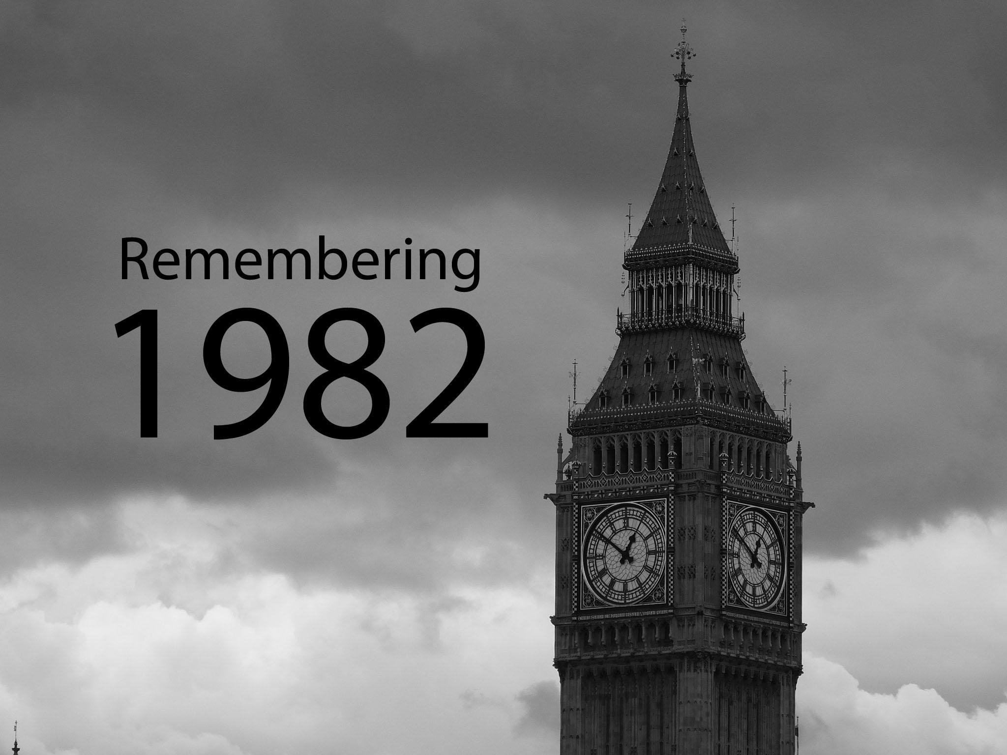 Remembering 1982